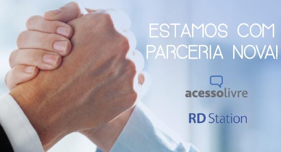 acesso livre resultados digitais rd station parceria