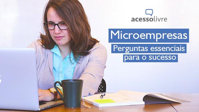microempresas perguntas essenciais acesso livre 2